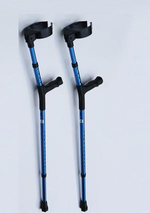 Aluminum alloy elbow crutches