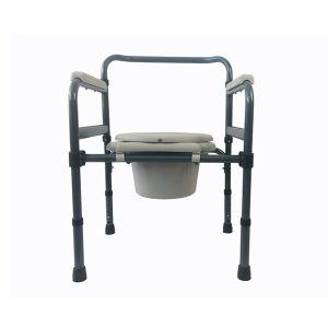 Height Adjustable Foldable Toilet Chair (2)