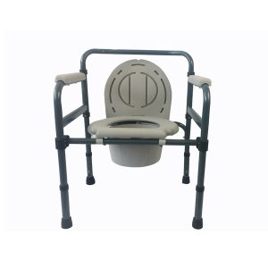 Height Adjustable Foldable Toilet Chair (3)