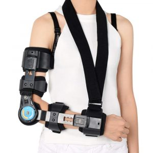 Telescopic ROM Elbow Arm Brace