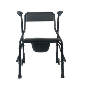 Portable folding toilet chair (1)